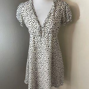 Joie silk/poly dress SZ small